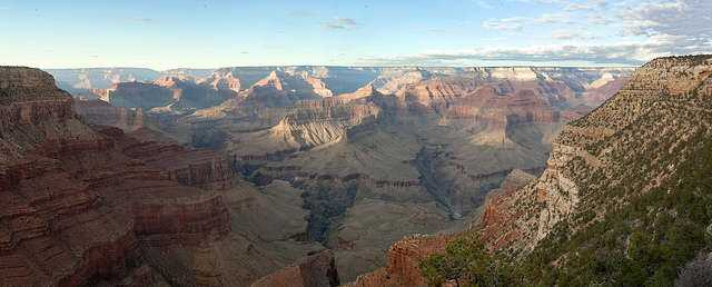 Grand Canyon National Park: View from Hermits Rest 4235