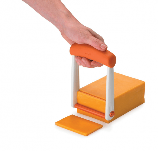 Chef'n Slicester Cheese Slicer, Apricot