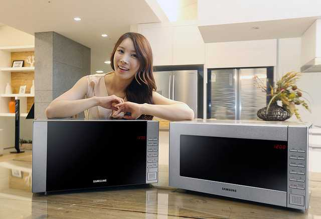 Samsung to Release Premium Steam Microwave Oven