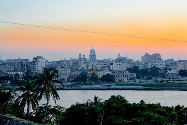 habana sunset