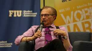 Larry King Visits BBC FIU