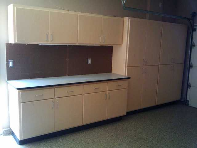 New Garage Cabinets