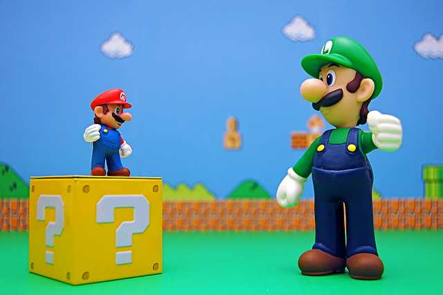 Mario vs. Super Luigi (316/365)