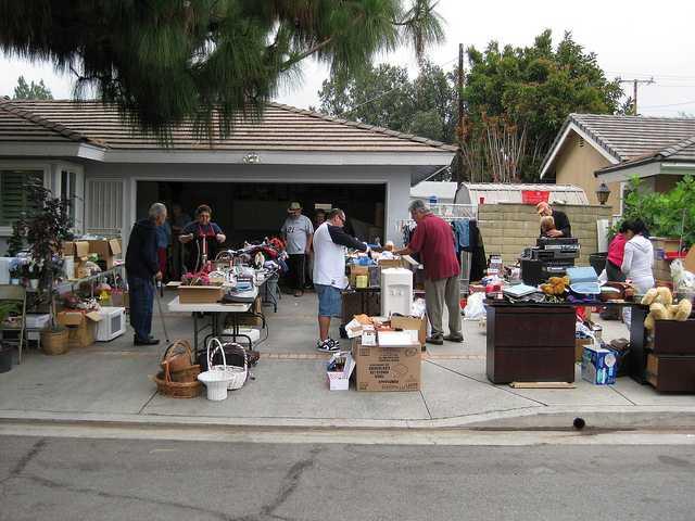 yard sale early