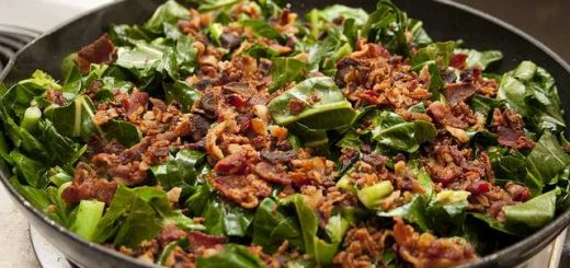 Bacon and Collard Greens