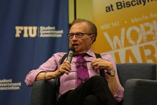 Larry King Visits BBC FIU
