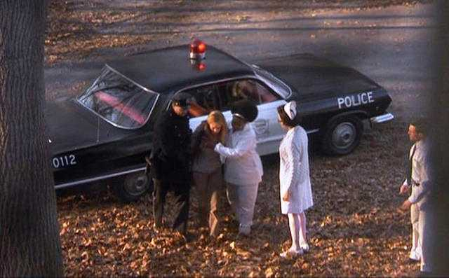 Girl, Interrupted - 1963 Chevrolet Bel Air Police Car