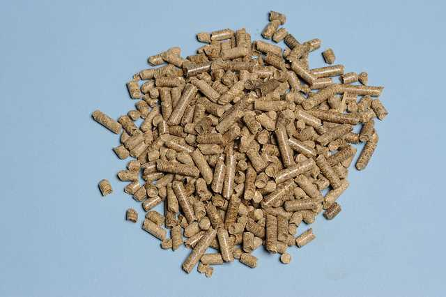 Corn stover, pelleted
