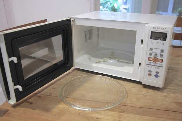 SOLD: Sharp microwave, USD 25