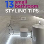 13 Small Bathroom Styling Tips