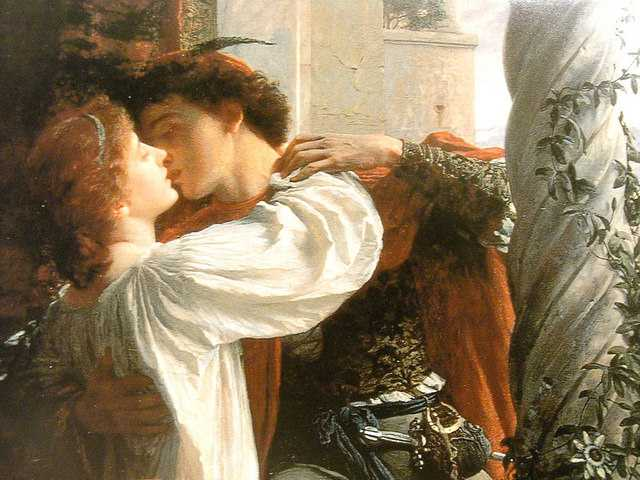 Dicksee - Romeo and Juliet- detail